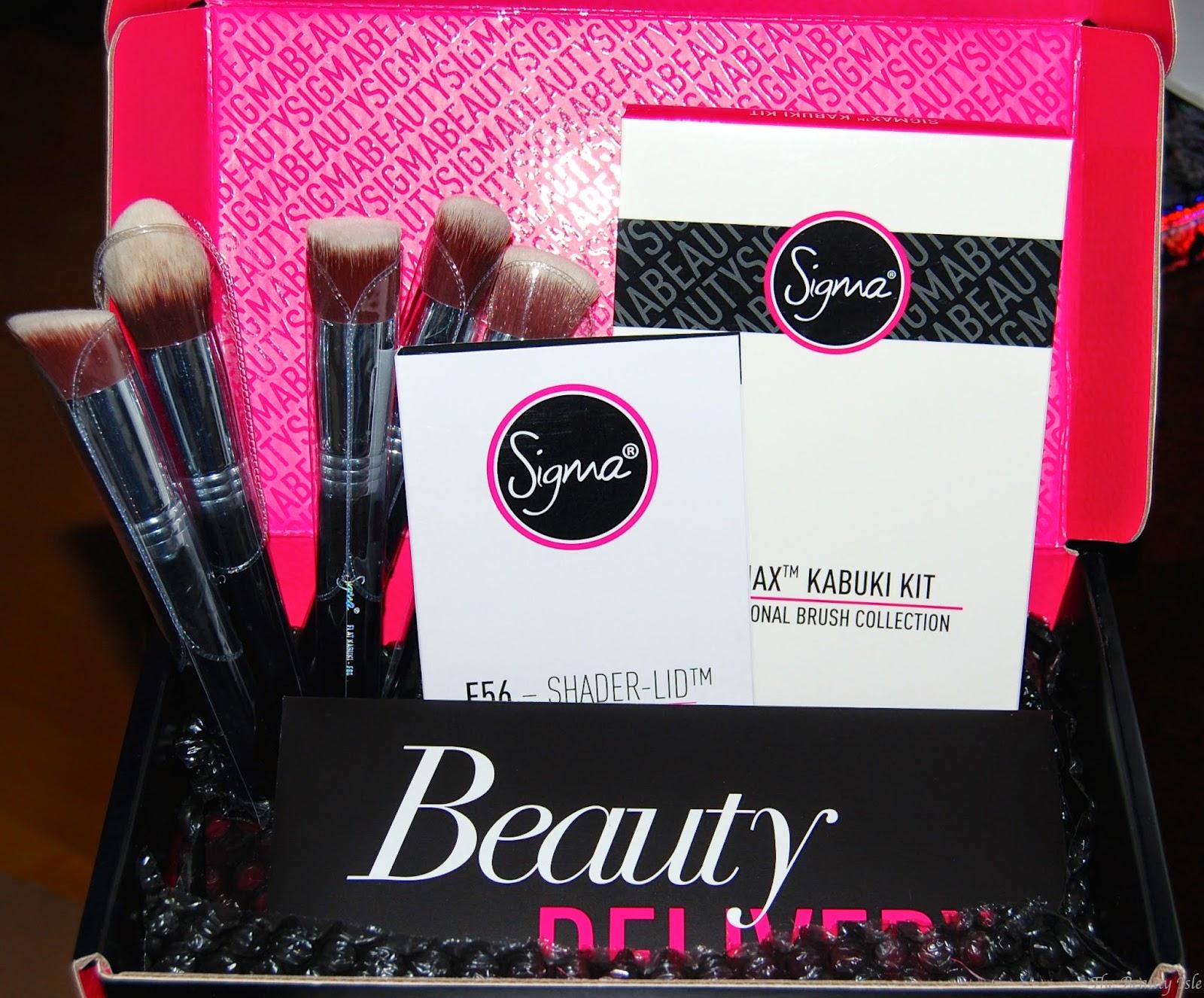 Sigmax Kabuki Brush Kit