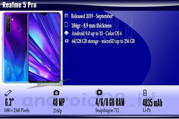 Spesifikasi Realme 5 Pro