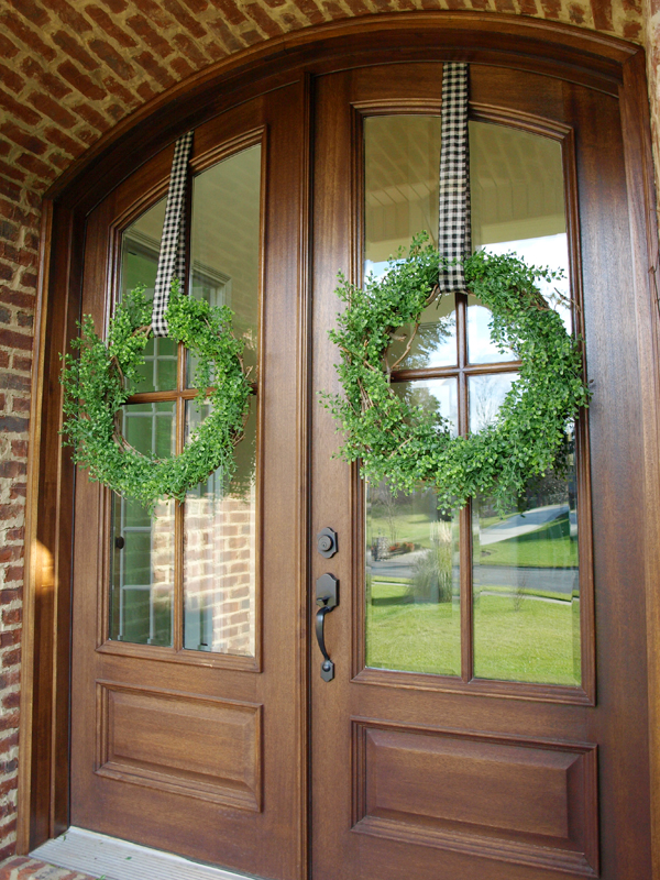My Favorite Green Wreaths Less Than Perfect Life Of