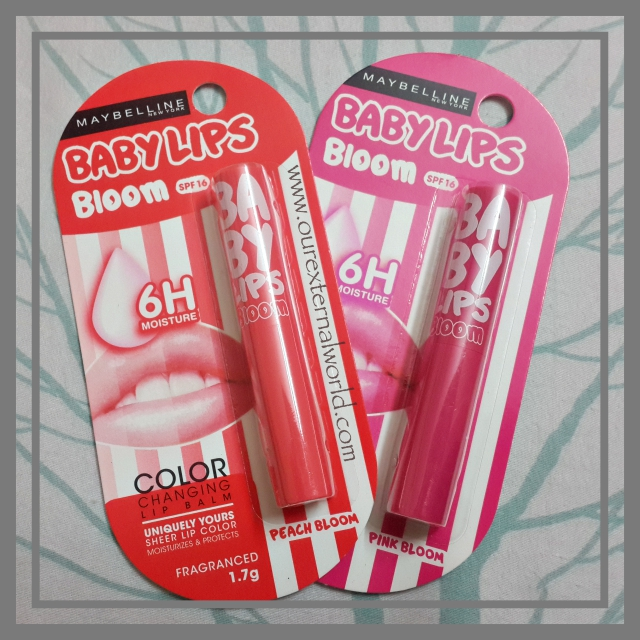 Maybelline Baby Lips Bloom - Review, Swatches, Price
