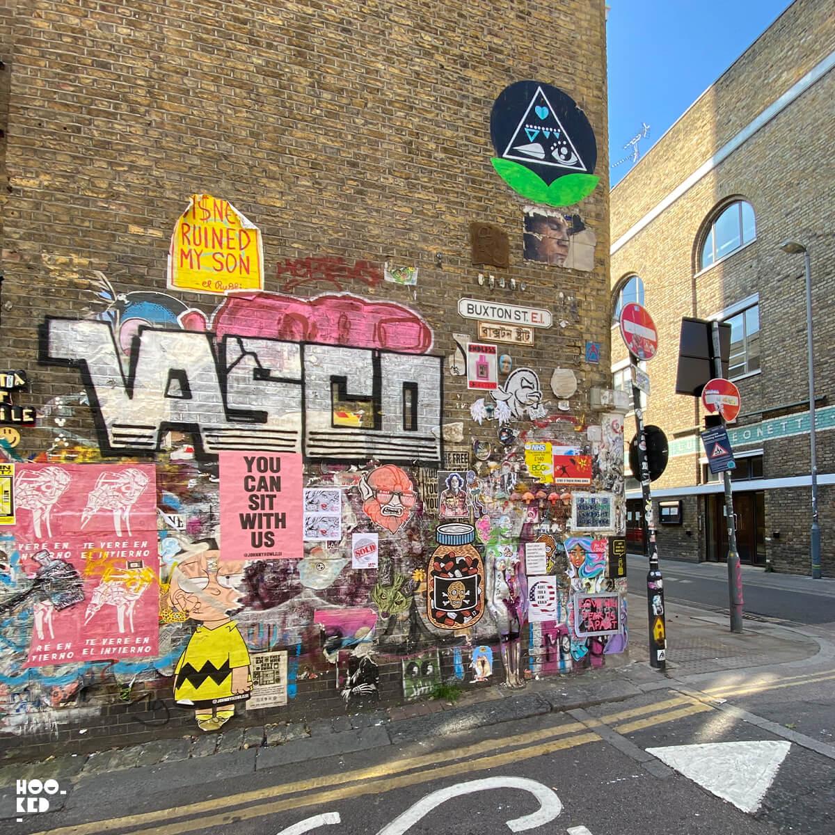 5 Brick Lane Street Art Hotspots for Paste-ups, Buxton Street