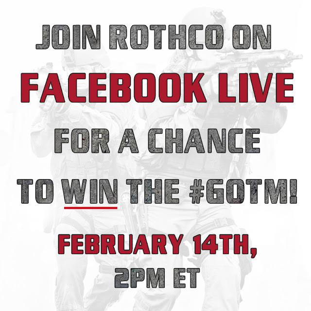 Rothco Is Going Live!