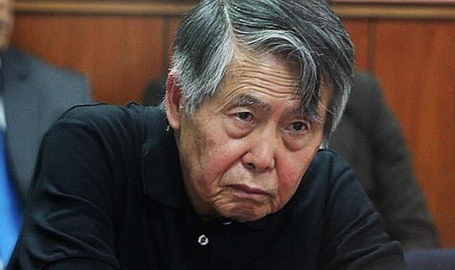 Rechazan hábeas corpus de Alberto Fujimori