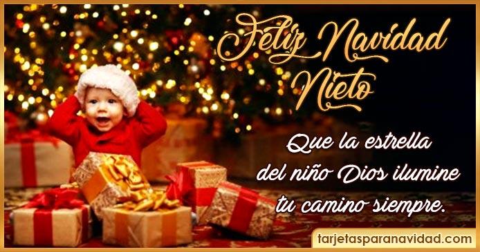 feliz navidad nieto