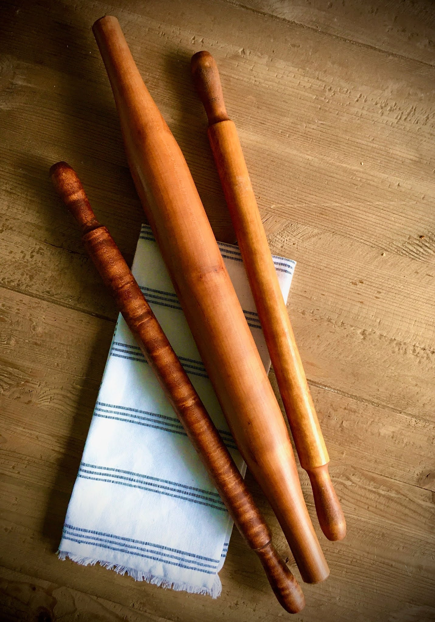 French-style rolling pins