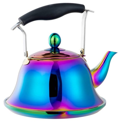 Nicecooker Whistling Tea Kettle with Removable Infusers