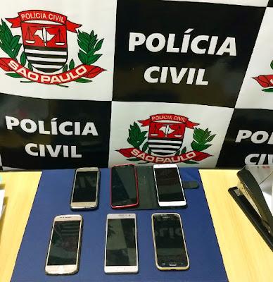 Polícia Civil  prende mulher que roubou celulares na Festa do Bom Jesus de Iguape