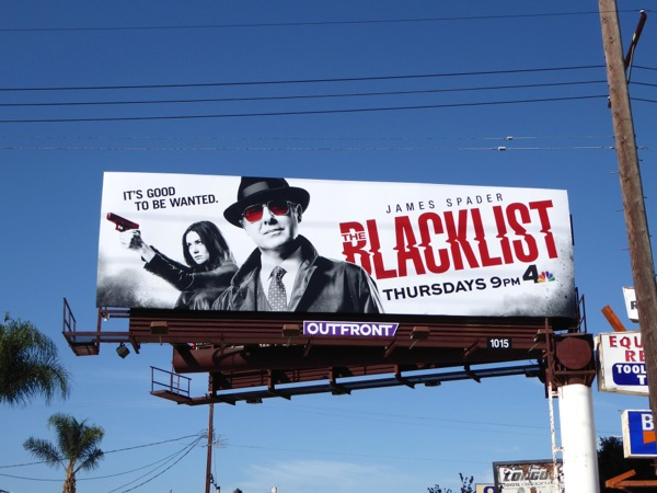 The Blacklist season 3 billboard
