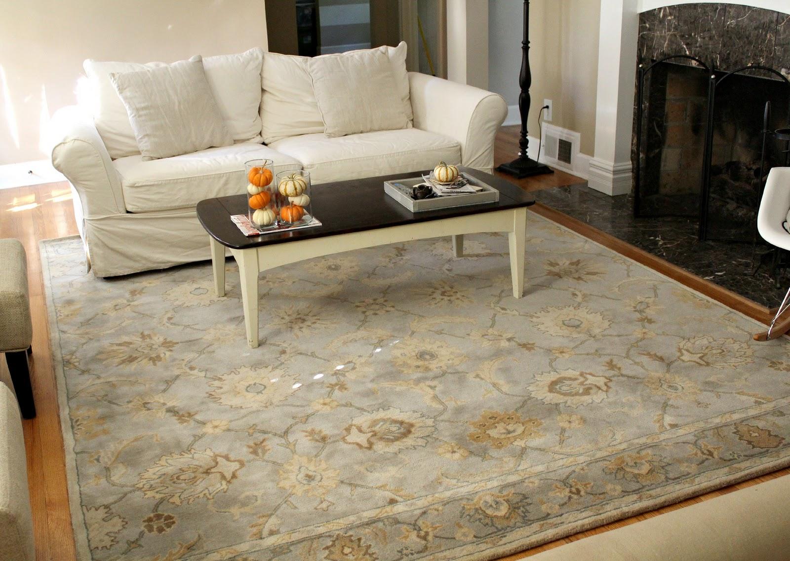 Ten June: Living Room Tweak List: A New Rug