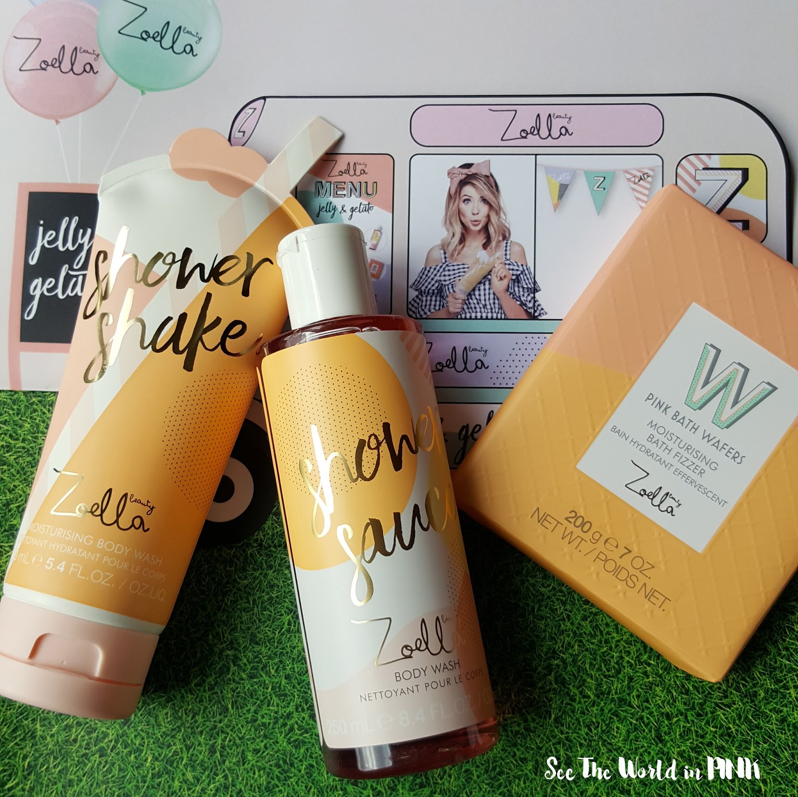 Skincare Sunday - New Zoella Jelly & Gelato Products