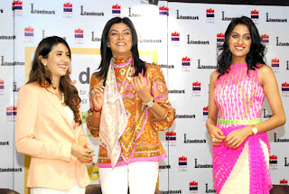 Sushmita Sen @ Pooja Makhija's 'eat.delete.' book launch gallery