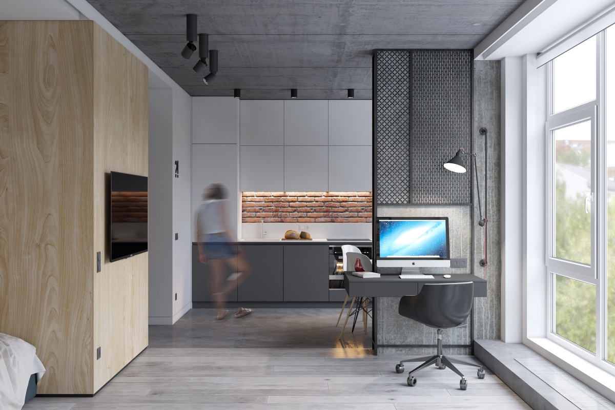 industrial studio apartment.  Industrial Design VM Designblogg Industrial Studio