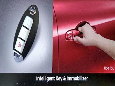 Gambar Fitur Keamanan Dan Kenyamanan Nissan March 1.5L M/T