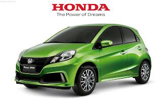 Tampilan Honda Brio