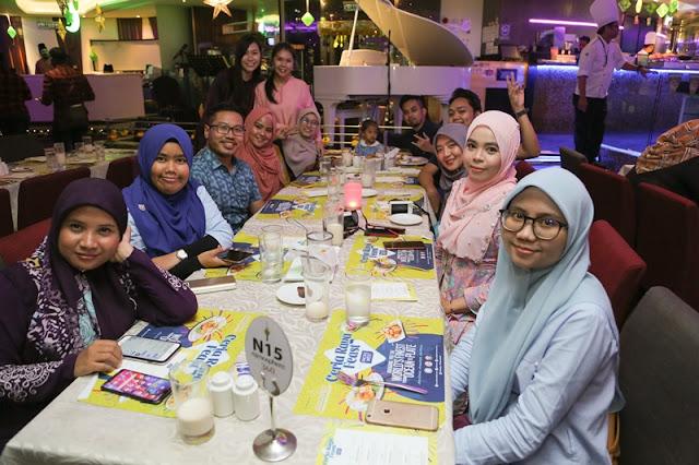 Majlis Berbuka Puasa Pasific West Dan Atmosphere 360 Bersama Media