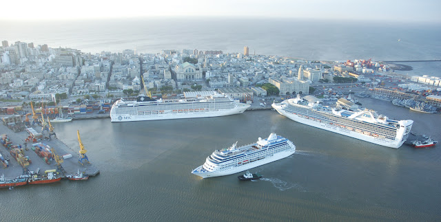 Cruceros Puerto Montevideo