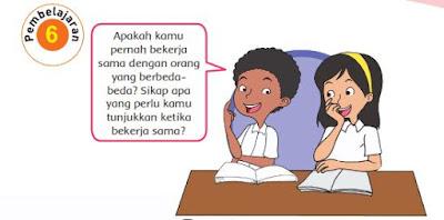 Kunci Jawaban Buku Kelas 4 SD Pembelajaran 6 Tema 1 Subtema 2