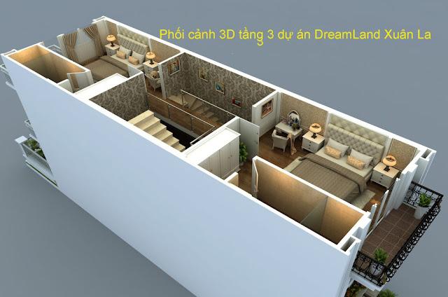Dự Án Shophouse, Liền kề DreamLand 107 Xuân La – Tây Hồ