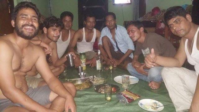 Pradip Tarun kanda @ Durgas house