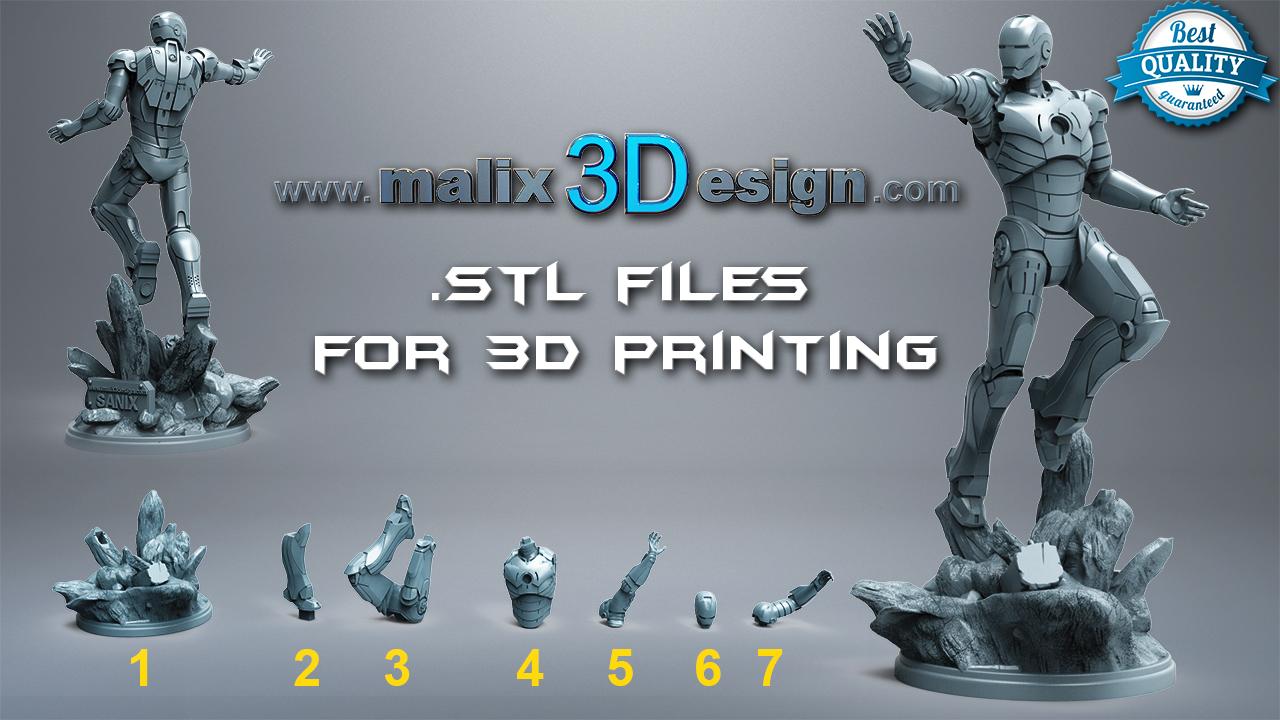 Summary -> Hulk 3d Printable Model Wwwmalix3designcom Sanix