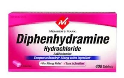 Difenhidramin - Kegunaan, Dosis, Efek Samping