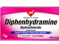 Diphenhydramine - Kegunaan, Dosis, Efek Samping
