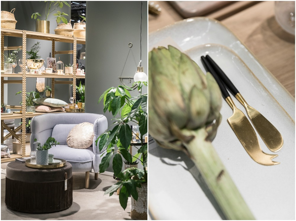 Formex, tradefair, sisustus, sisustaminen, inredning, interior, inspiration, spring, trends, trend, Visualaddict, photography, Frida Steiner, decor, decoration, trends2018, colours, home, colors, green, lavender, gold, kulta, Bloomingville