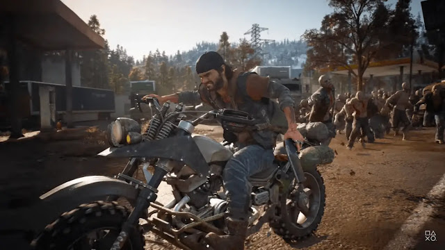Days Gone (2019) best zombie games, best zombie survival games, the best zombie game,zombie games and best zombie games ever.