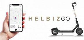 Noleggio monopattini elettrici con l'app HelbizGO