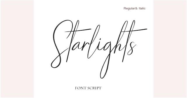 خطوط انجليزية حديثة- font script