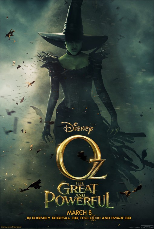 Witch Oz Great and Powerful poster