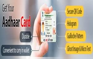 Reprint PVC card Aadhaar online