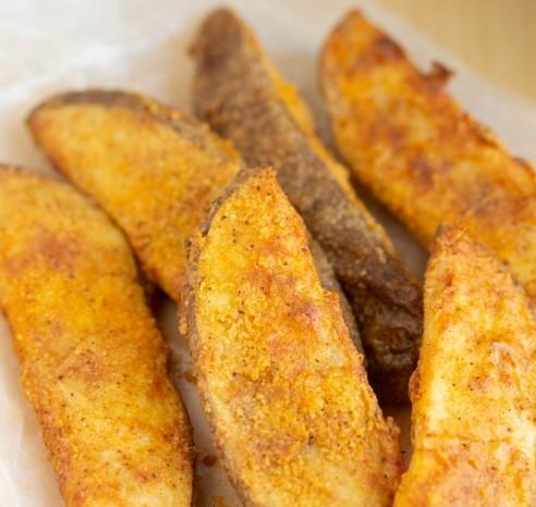Air Fryer Potato Wedges (KFC Copycat)