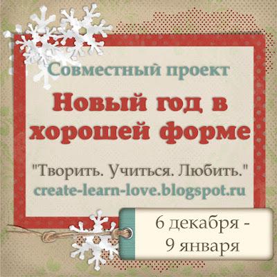"""Совместный проект """"Новый год в хорошей форме"""""""