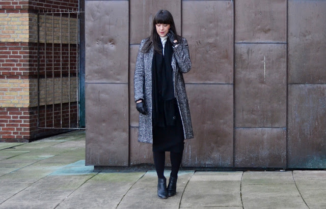Gestuz coat outfit post