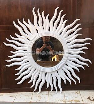 Cermin Matahari Silver Aksesoris Indoor Furniture