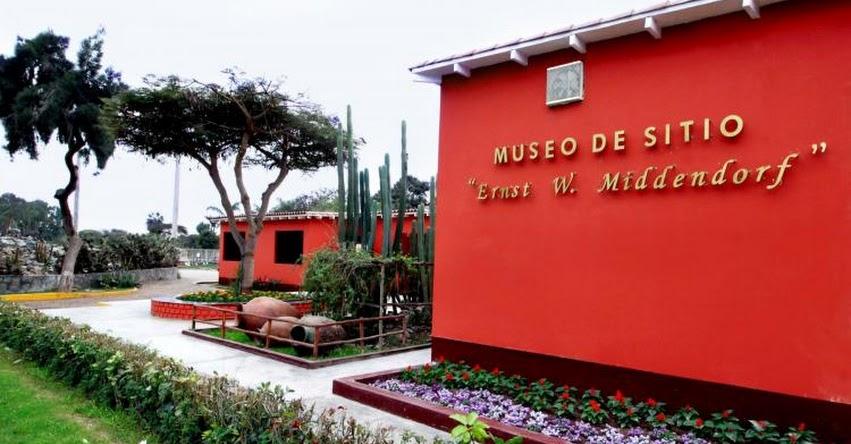PARQUE DE LAS LEYENDAS: Hoy domingo podrás visitar el Museo Kalinowski y el Museo de Sitio Ernst W. Middendorf