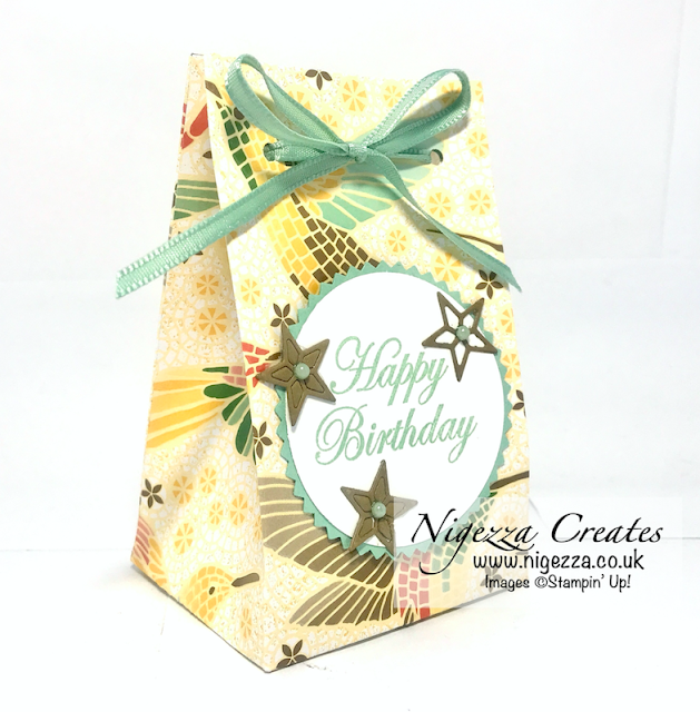 Nigezza Creates with Stampin' Up! Mosaic Mood Gift Box With A Product Sneak Peek