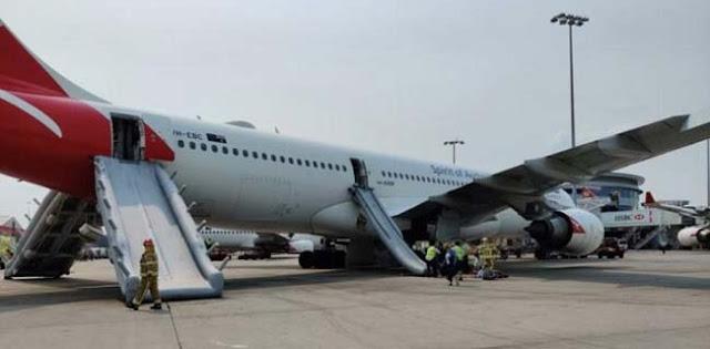 Cairan Hidrolik Bermasalah, Penumpang Qantas Airways Dievakuasi