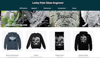 Lesley Pyke Glass Engraver Merch Store