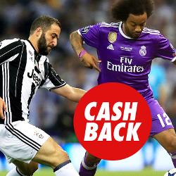 circus promocion Juventus vs Real Madrid 3 abril