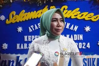 Ketua Kadin Kabupaten Sukabumi Nani Kusmawati