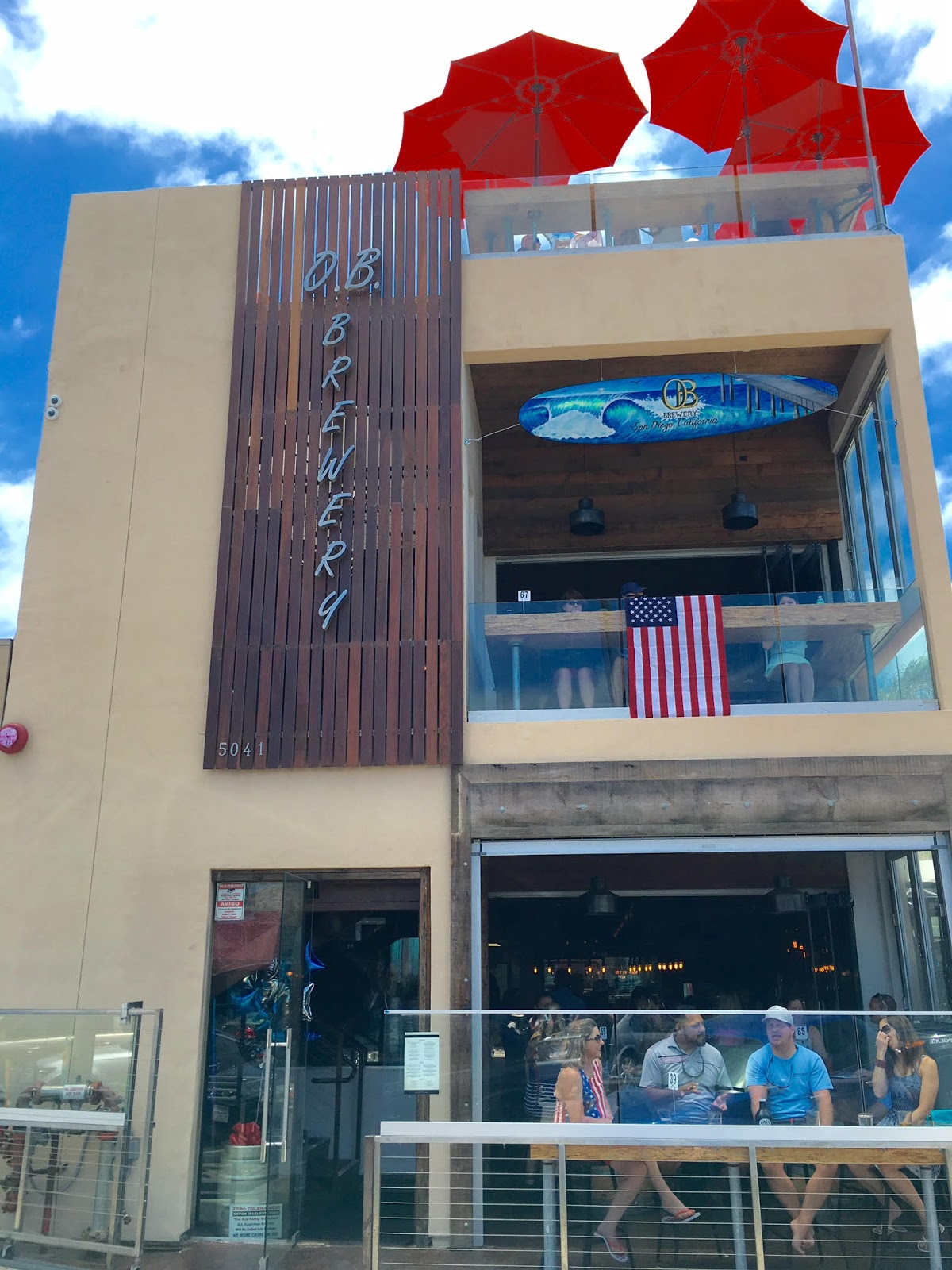 Sandiegoville Ob Brewery Debuts Just In Time For San