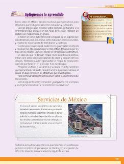 Apoyo Primaria Geografía 4to. Grado Bloque IV Lección 3 Comercio y turismo