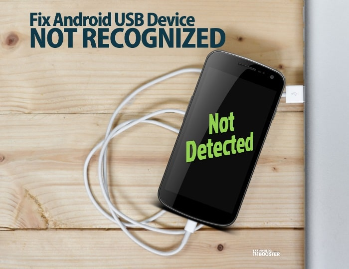 Fix Android USB device not recognized