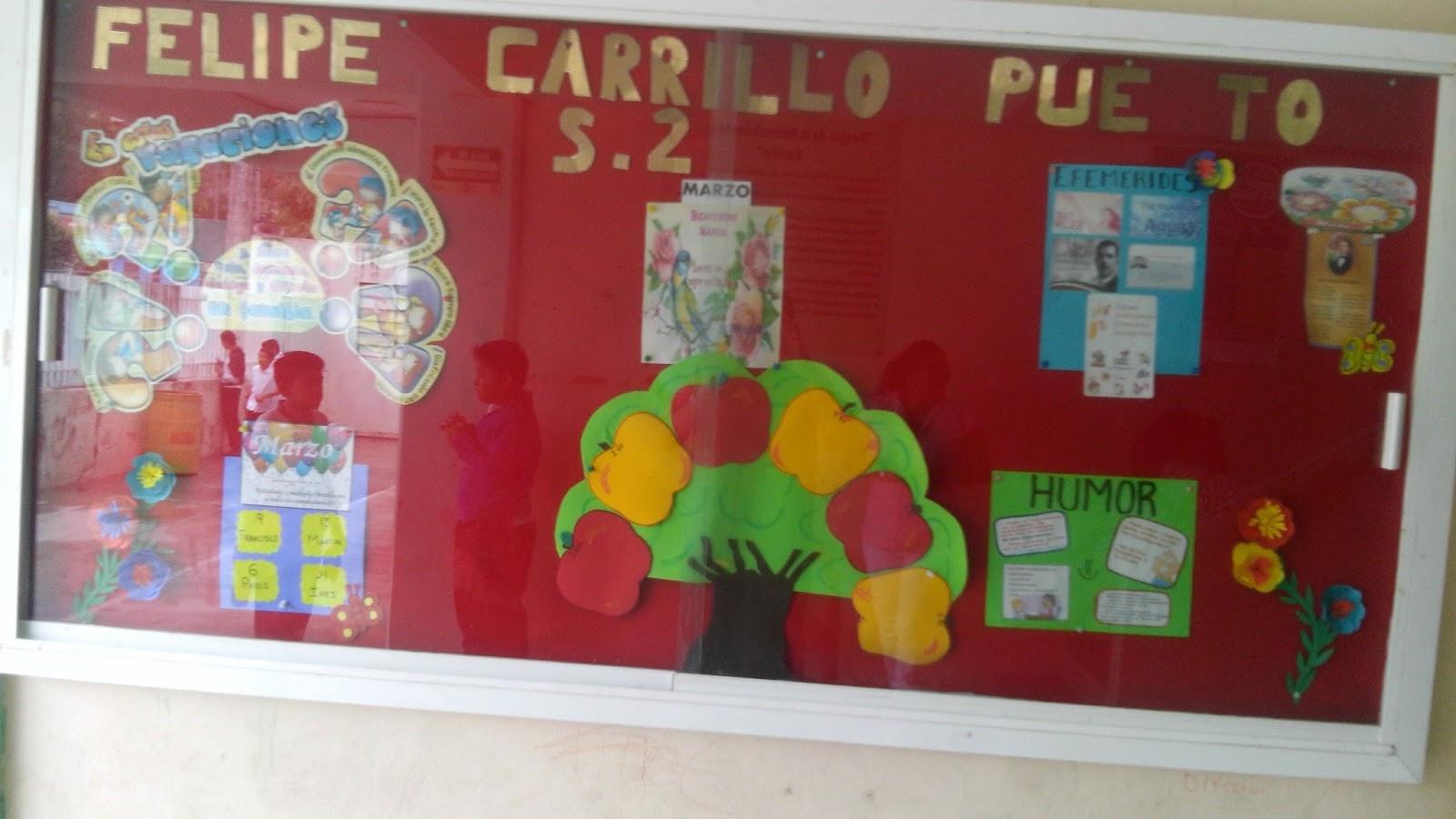 Escuela primaria felipe carrillo puerto seccion 2 for Mural de prepa 1 toluca