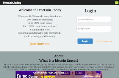 Cryptocurrency faucets direct pay no minimum