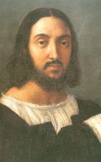Autoportrait (Détail du portrait double) - Raffaello Sanzio