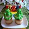 Eggless Pineapple Cupcake