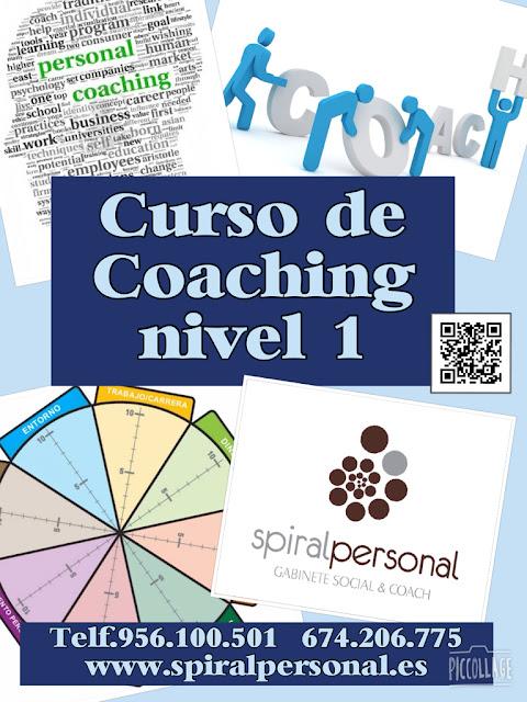 Spiral Personal. Gabinete Social & Coach os presenta el Curso de Coaching nivel 1